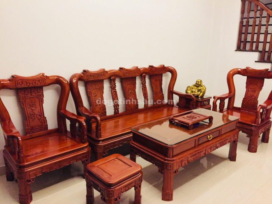 0dfa8d761533ed6db422 880x660 - Bộ bàn ghế Minh Quốc triện tay 10 gỗ hương đá