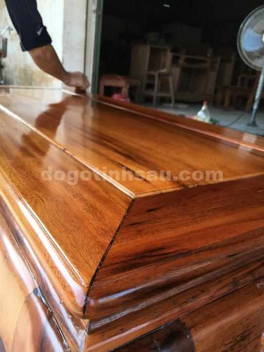 IMG 0682 - Bộ bàn ghế phòng khách gỗ gụ ta tay 12 vách rời