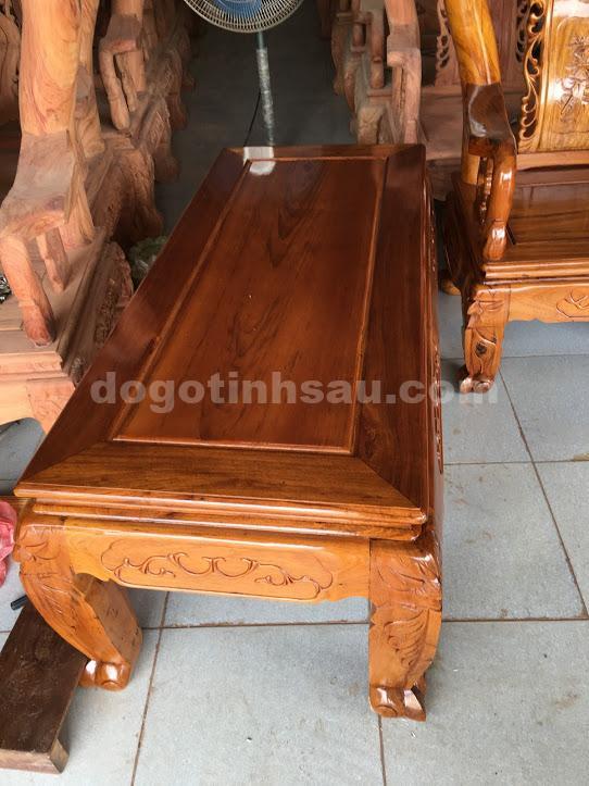 IMG 0828 - Bộ bàn ghế phòng khách gỗ gụ ta tay 12 vách rời