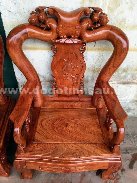 IMG 5130 - Bộ bàn ghế gỗ hương đá tay 10
