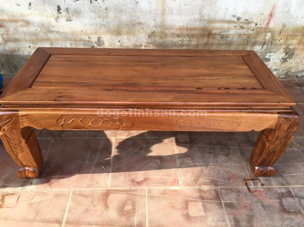 IMG 0658 - Bộ bàn ghế minh quốc tay 12 gỗ gụ ta vách liền