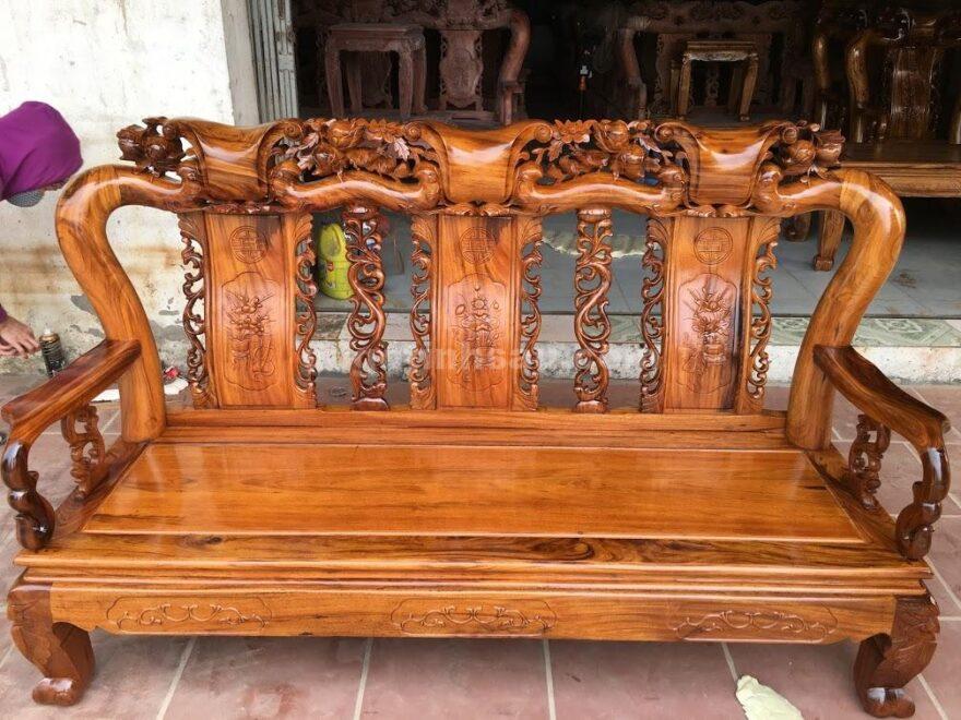 IMG 0498 880x660 - Bộ bàn ghế Minh Quốc đào gỗ gụ ta tay 10
