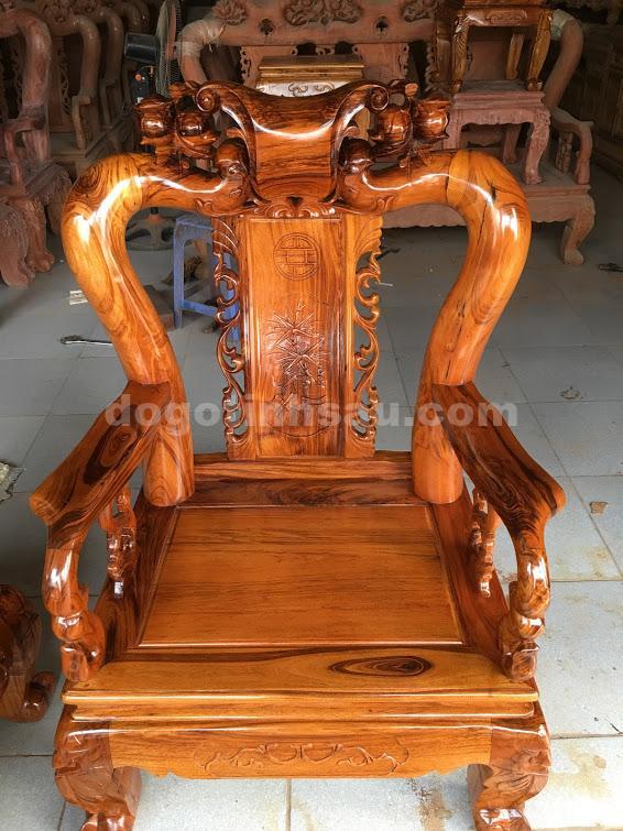 IMG 0500 - Bộ bàn ghế Minh Quốc đào gỗ gụ ta tay 10