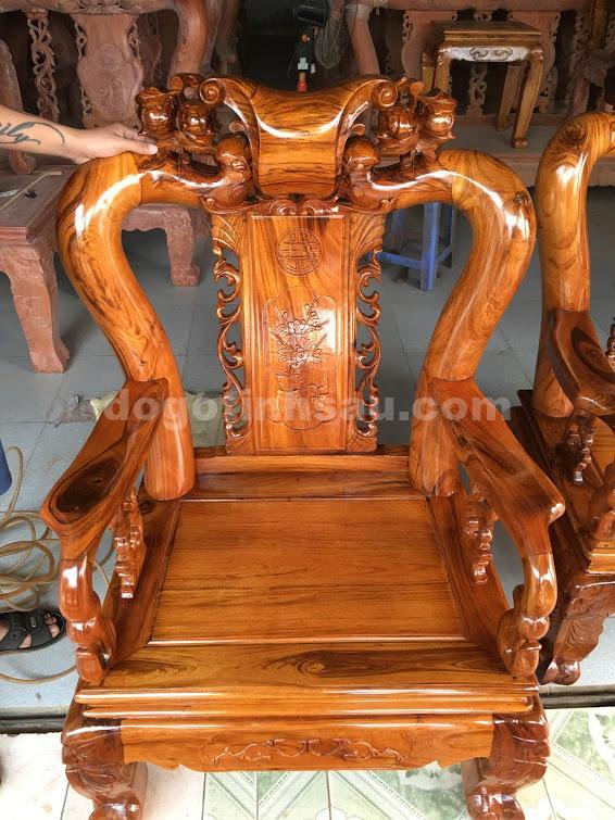 IMG 0501 - Bộ bàn ghế Minh Quốc đào gỗ gụ ta tay 10