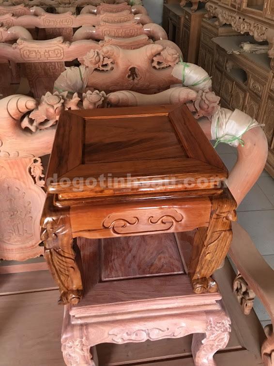 IMG 0502 - Bộ bàn ghế Minh Quốc đào gỗ gụ ta tay 10
