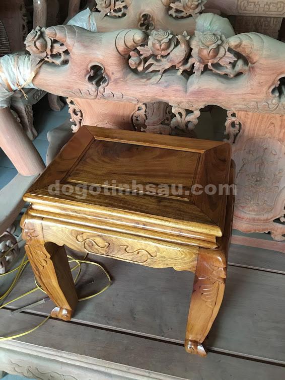 IMG 0503 - Bộ bàn ghế Minh Quốc đào gỗ gụ ta tay 10