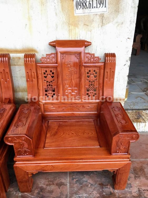 IMG 4437 - Bộ bàn ghế hộp âu á gỗ hương đá