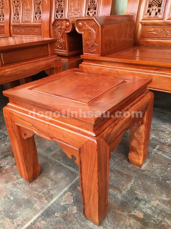 IMG 4441 - Bộ bàn ghế hộp âu á gỗ hương đá