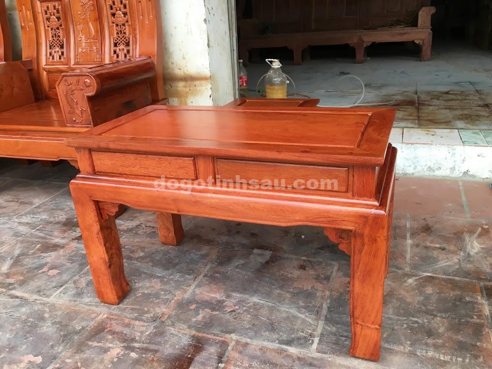 IMG 4445 - Bộ bàn ghế hộp âu á gỗ hương đá
