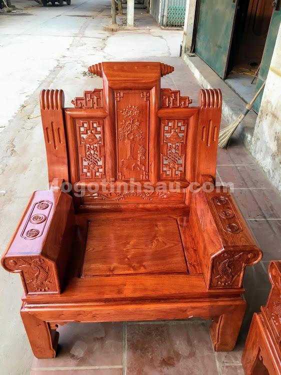 IMG 4456 - Bộ bàn ghế hộp âu á gỗ hương đá