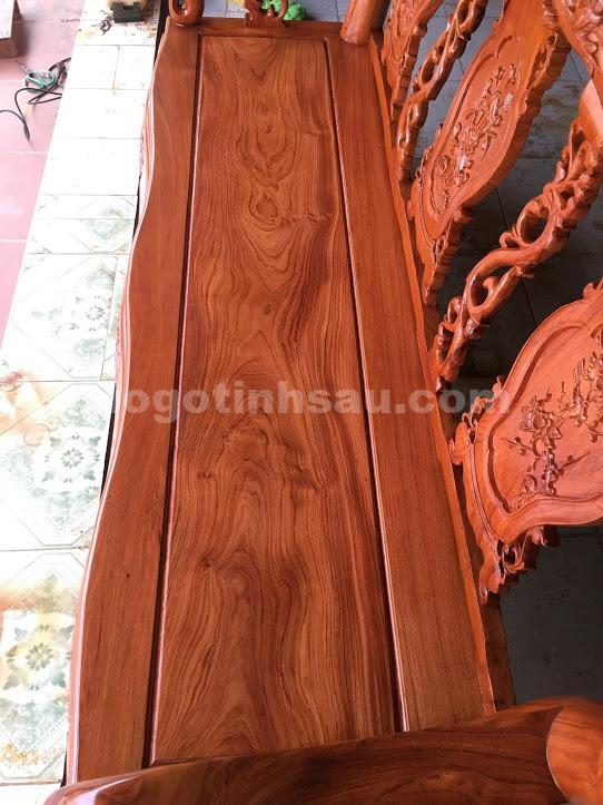 IMG 3558 - Bộ Minh Quốc đào tay 10 bàn đôn hộp gỗ hương đá
