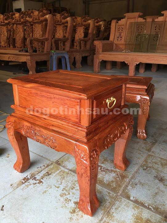 IMG 3571 - Bộ Minh Quốc đào tay 10 bàn đôn hộp gỗ hương đá