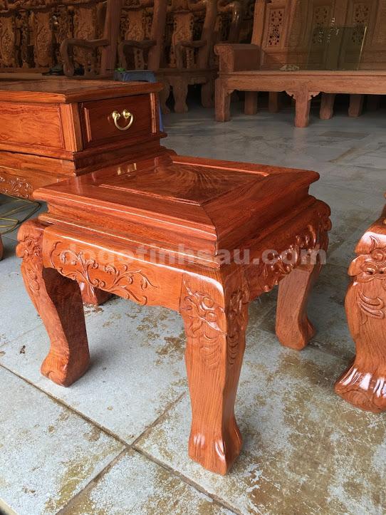 IMG 3573 - Bộ Minh Quốc đào tay 10 bàn đôn hộp gỗ hương đá
