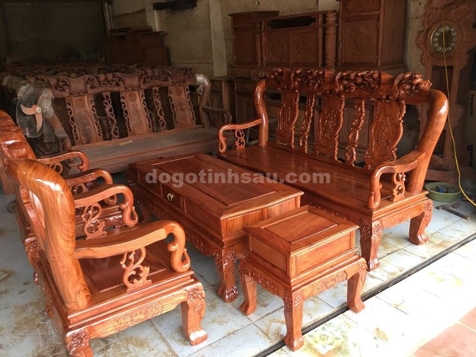 IMG 3580 - Bộ Minh Quốc đào tay 10 bàn đôn hộp gỗ hương đá