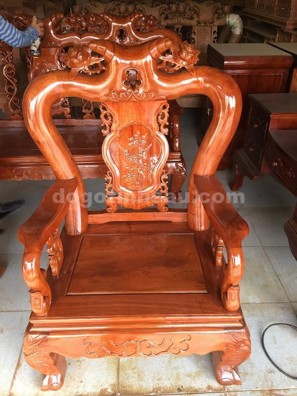 IMG 3683 - Bộ ghế minh quốc hồng trĩ tay 10 gỗ hương đá