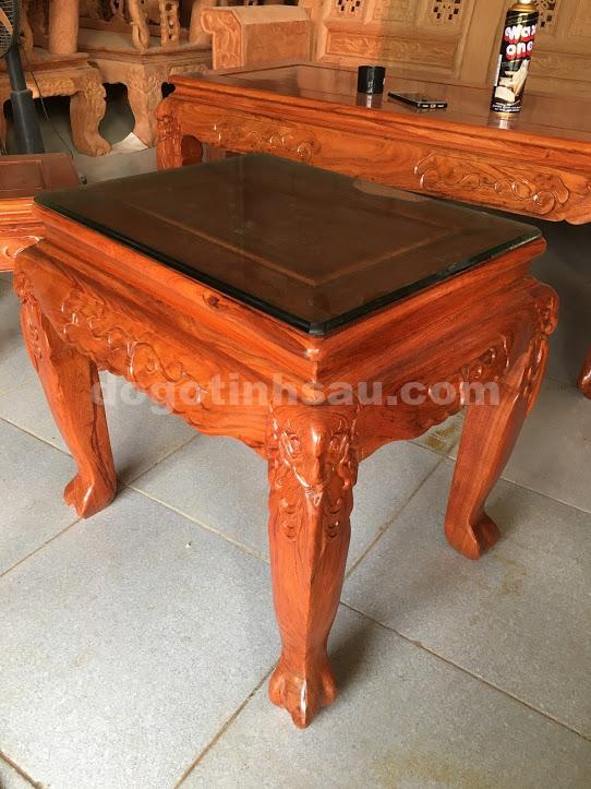 IMG 3689 - Bộ ghế minh quốc hồng trĩ tay 10 gỗ hương đá