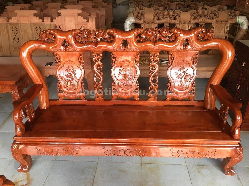 IMG 3692 1 - Bộ ghế minh quốc hồng trĩ tay 10 gỗ hương đá