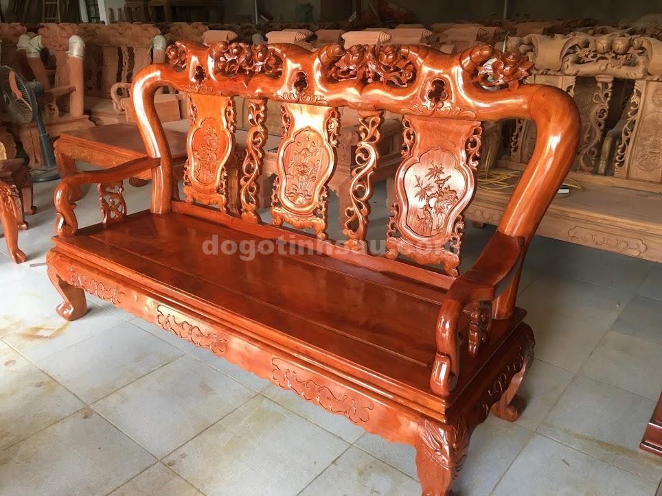 IMG 3694 - Bộ ghế minh quốc hồng trĩ tay 10 gỗ hương đá
