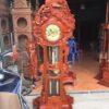 FCD13618 511E 4D37 87BE BE508C36AE9B 100x100 - Đồng hồ cây Hoa Lá Tây gỗ hương đá