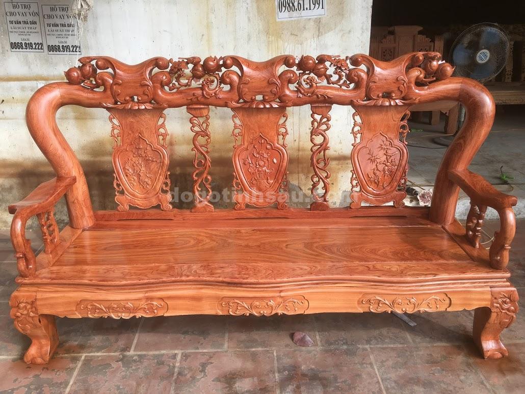 IMG 3811 - Bộ bàn ghế hương đá tay 12 vân đẹp
