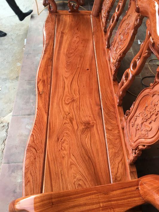 IMG 3943 - Bộ bàn ghế gỗ hương đá tay 10 vân tuyển chọn