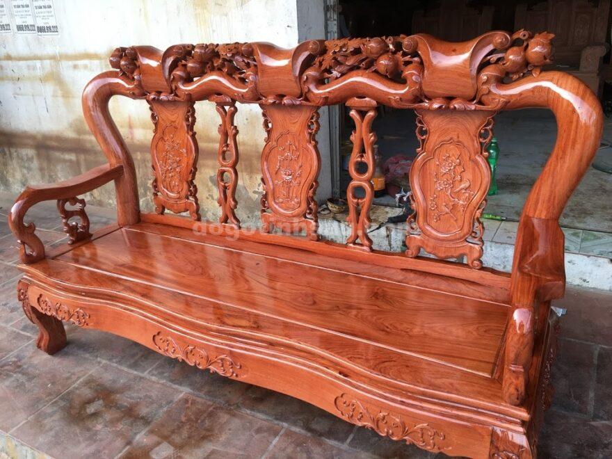IMG 3949 880x660 - Bộ bàn ghế gỗ hương đá tay 10 vân tuyển chọn