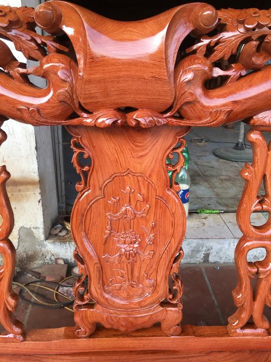 IMG 3951 - Bộ bàn ghế gỗ hương đá tay 10 vân tuyển chọn