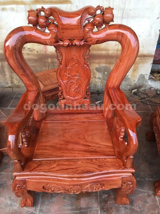 IMG 3958 - Bộ bàn ghế gỗ hương đá tay 10 vân tuyển chọn