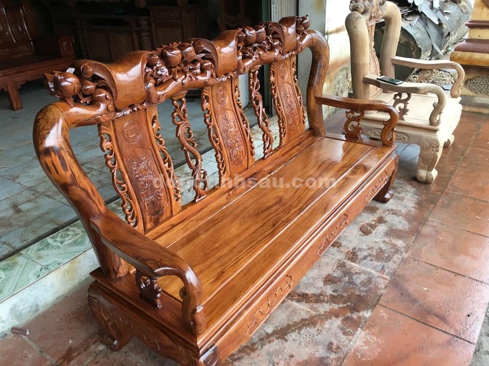 IMG 4126 - Bộ bàn ghế gỗ gụ ta tay 10