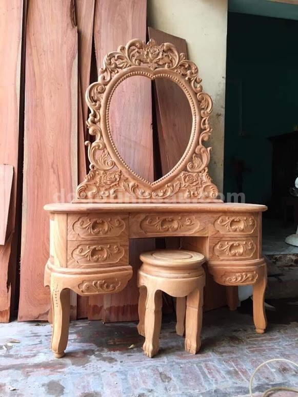 ban phan go gu 1 - Mua bàn trang điểm gỗ gụ đẹp ở đâu đảm bảo chất lượng?