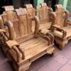 ghe tan 2 100x100 - Bộ bàn ghế Hoàng Gia gỗ hương đá