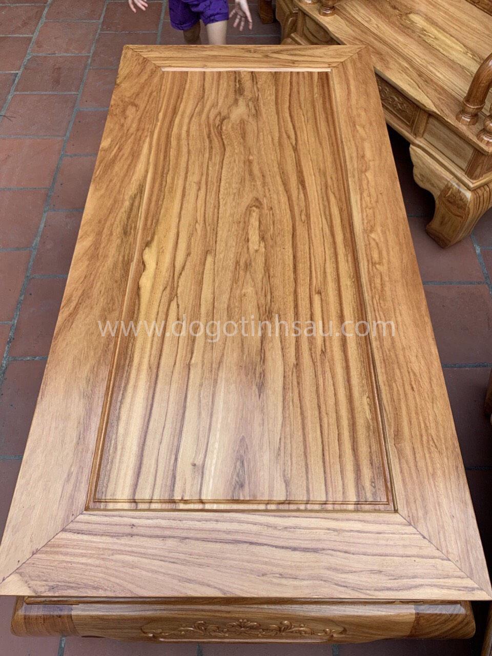 mat ban - Bộ bàn ghế Tần Thủy Hoàng tay 12 gỗ gõ đỏ