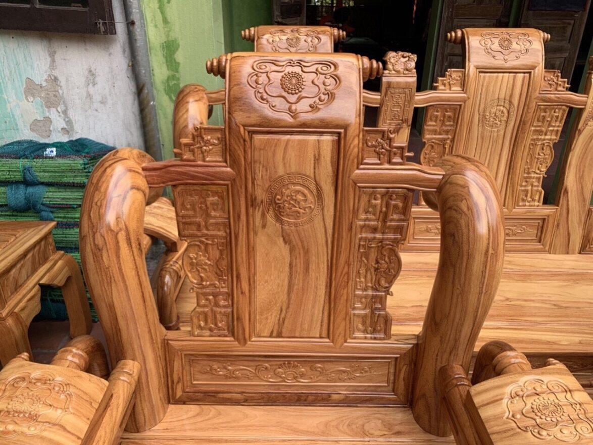 van dep 1174x881 - Bộ bàn ghế Tần Thủy Hoàng tay 12 gỗ gõ đỏ