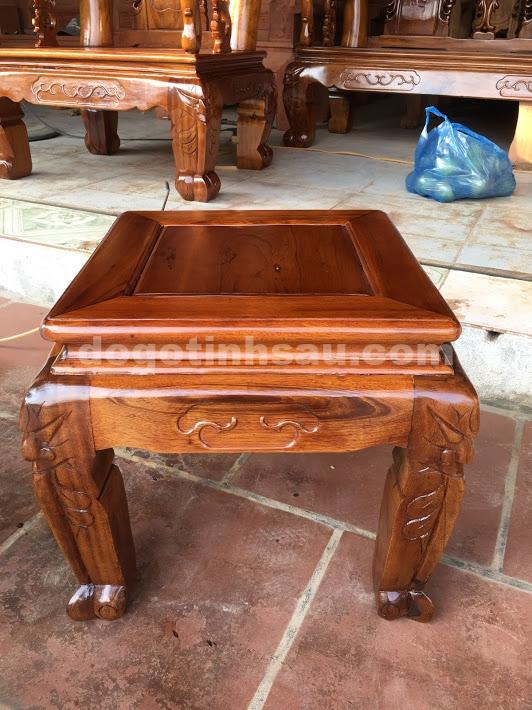 IMG 3756 - Bộ bàn ghế Minh Quốc đào tay 12 gỗ gụ ta Quảng Bình