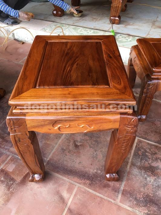 IMG 3759 - Bộ bàn ghế Minh Quốc đào tay 12 gỗ gụ ta Quảng Bình