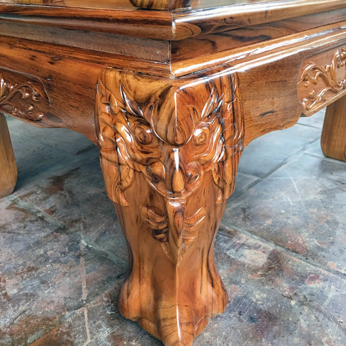 IMG 4264 - Bộ bàn ghế gỗ gụ ta tay 12 vân cực đẹp