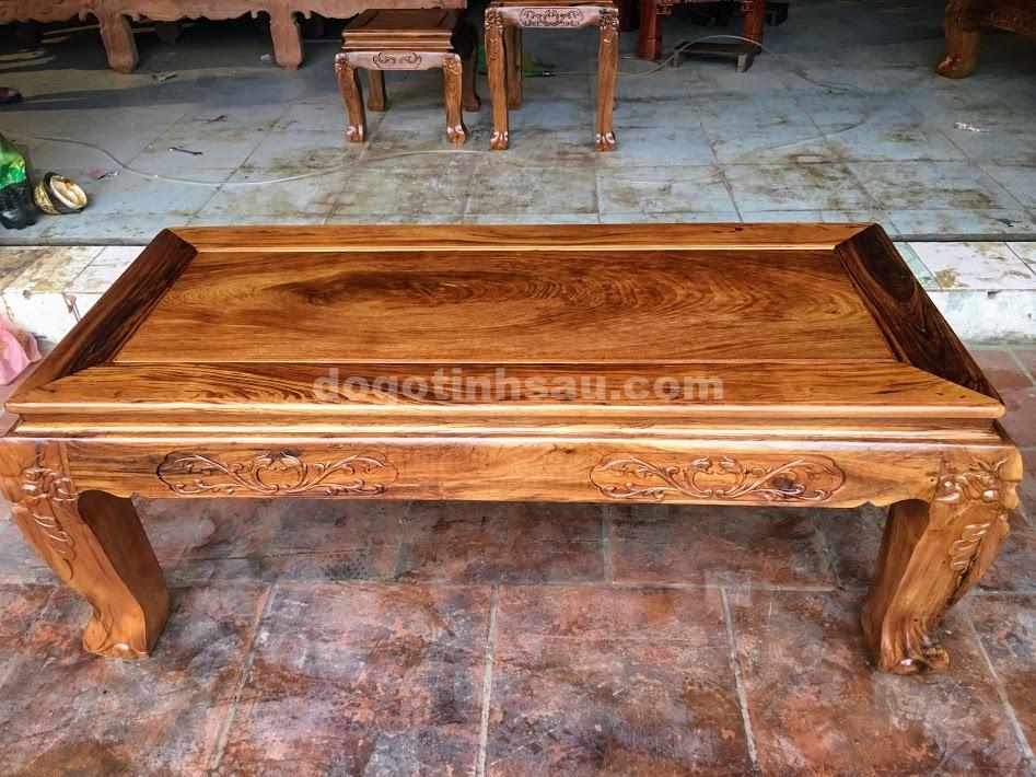 IMG 4268 - Bộ bàn ghế gỗ gụ ta tay 12 vân cực đẹp
