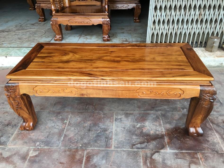 IMG 4734 - Bộ bàn ghế gỗ gụ ta Quảng Bình 6 món tay 12 vân VIP