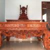 sap tho go huong da chan 22 100x100 - Sập thờ tứ linh gỗ gụ chân 24 + bàn cúng cơm