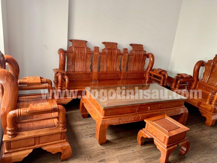 bao gia bo ban ghe tan thuy hoang tay 12 go huong da 880x660 - Bộ bàn ghế Tần Thủy Hoàng cột 12 gỗ hương đá (cột liền)