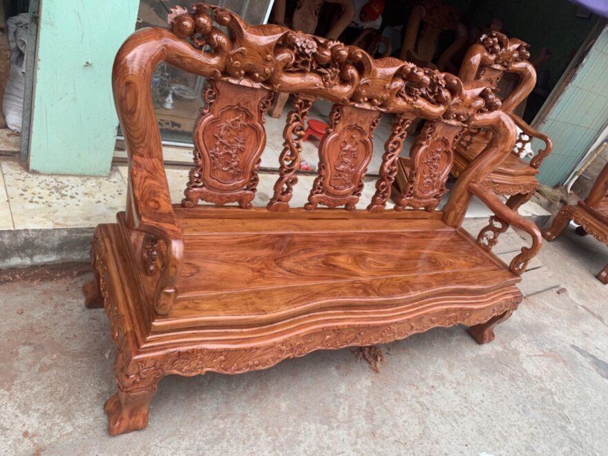 bo ban ghe huong da tay 12 minh quoc dao chim hang dat 880x660 - Bộ bàn ghế hương đá tay 12 minh quốc đào chim (hàng đặt)