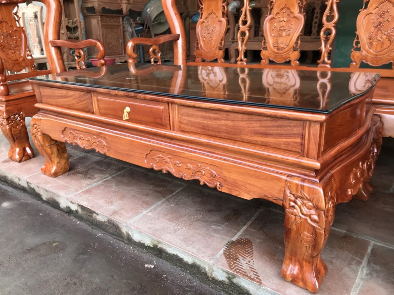 891671b774fc89a2d0ed - Bộ bàn ghế Minh Quốc đào tay 12 gỗ hương đá siêu đẹp