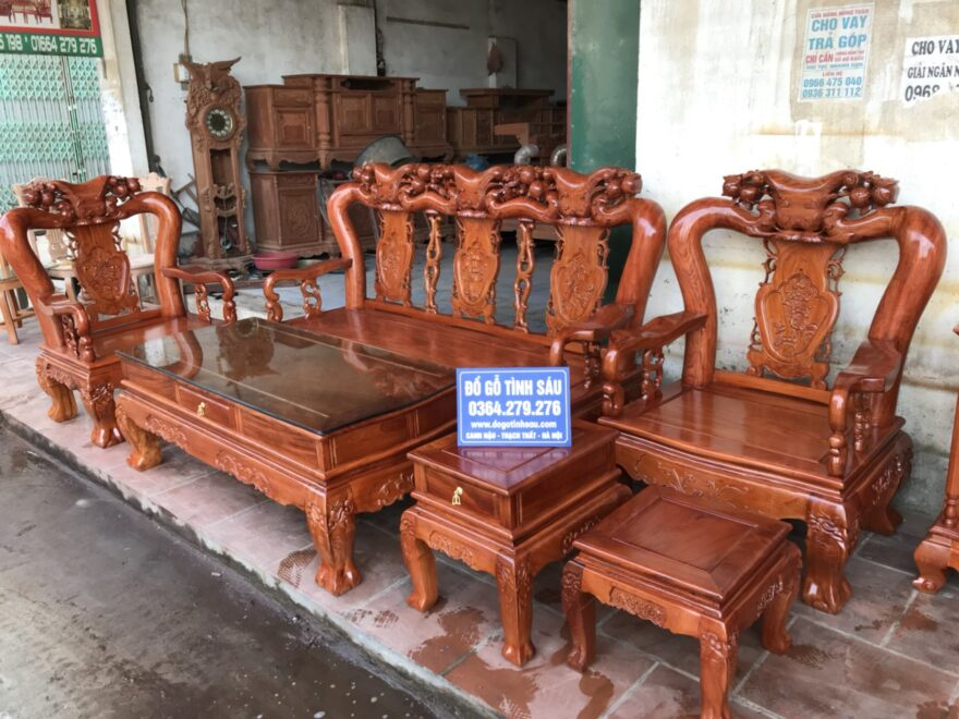 8dfc2e5f2b14d64a8f05 880x660 - Bộ bàn ghế Minh Quốc đào tay 12 gỗ hương đá siêu đẹp