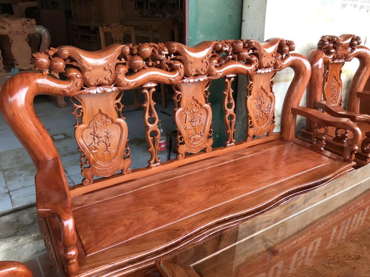 e3066fa46aef97b1cefe - Bộ bàn ghế Minh Quốc đào tay 12 gỗ hương đá siêu đẹp
