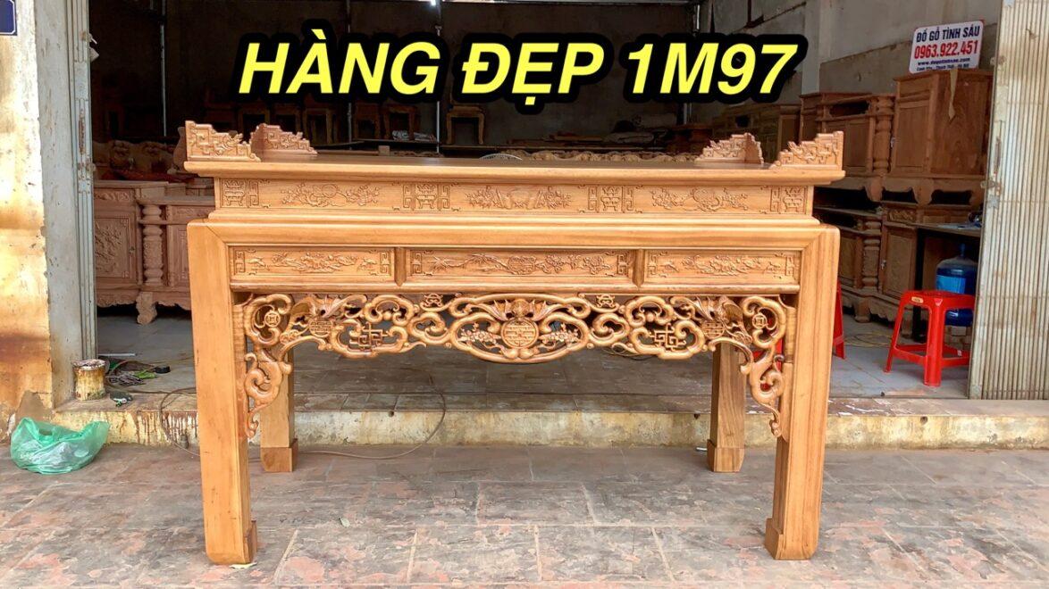 an gian ngu phuc 1174x660 - Án gian thờ ngũ phúc gỗ gụ lào chân 12 (dạ đục tay)