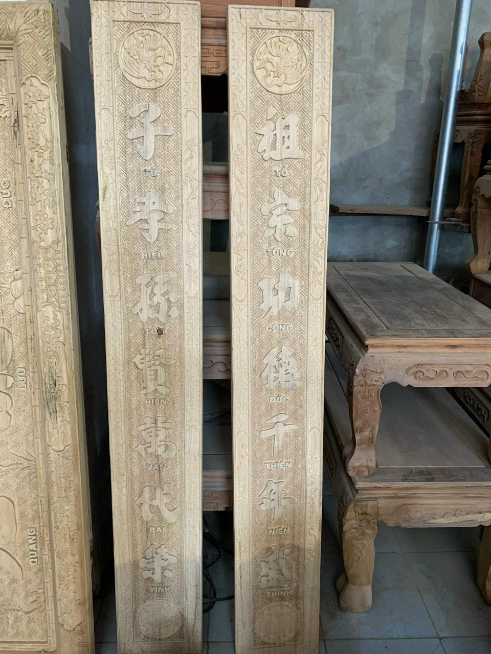 bao gia hoanh phi cau doi go gu - Vì sao nên chọn hoành phi câu đối gỗ gụ cho bàn thờ gia tiên?