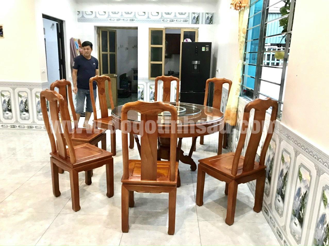 gia bo ban ghe an go go do - 5 Lý do để mẫu bàn ghế ăn gỗ gõ đỏ ngày càng được ưa chuộng trên thị trường