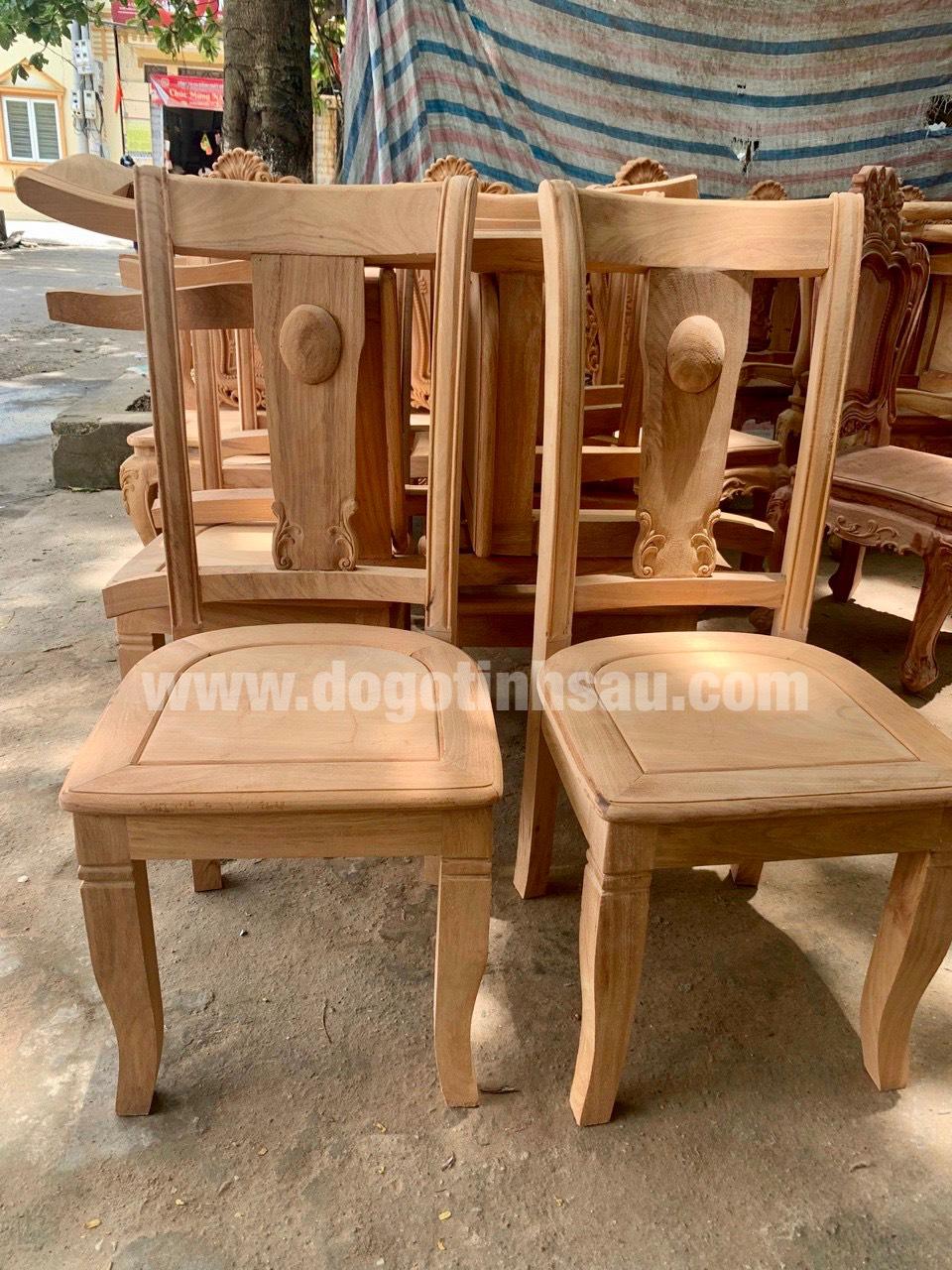 mau ghe an go go do 5 - 5 Lý do để mẫu bàn ghế ăn gỗ gõ đỏ ngày càng được ưa chuộng trên thị trường