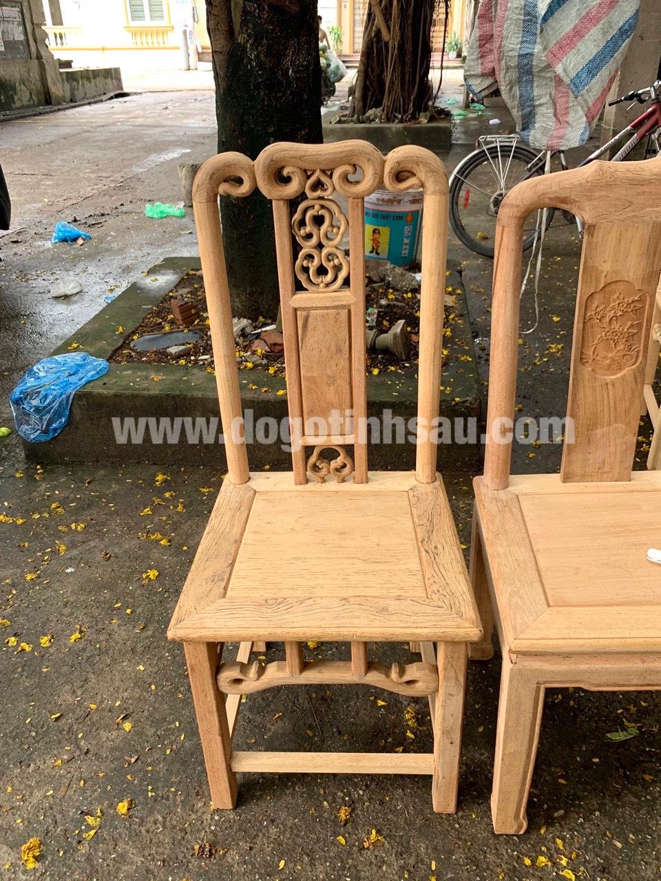 mau ghe an go go do 8 - 5 Lý do để mẫu bàn ghế ăn gỗ gõ đỏ ngày càng được ưa chuộng trên thị trường