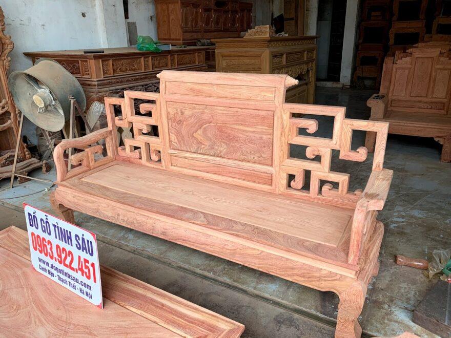 bo ghe son thuy go huong da 880x660 - Bộ Bàn Ghế Sơn Thủy Gỗ Hương Đá (Chọn Vân)